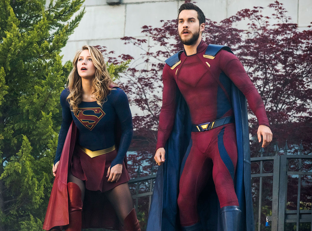 Supergirls Melissa Benoist And Chris Wood Are Engaged